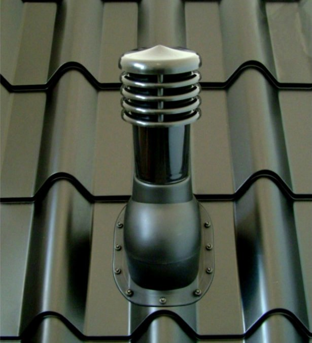 The use of ventilation chimneys